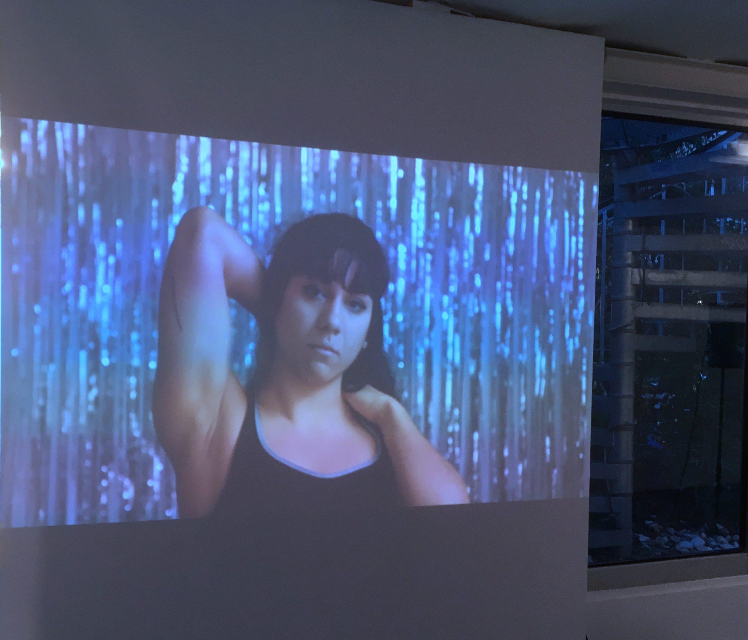 Julien Bourgain, En partie Kelly, 2019, installation vidéo