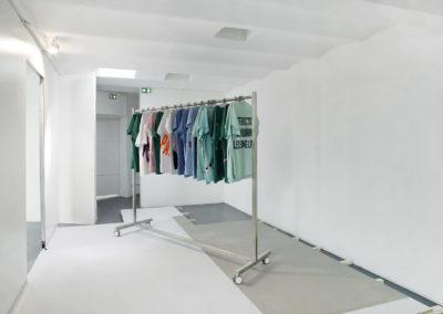 Vue de l'exposition, Portant, 2018. Crédit photo : Philippe Munda