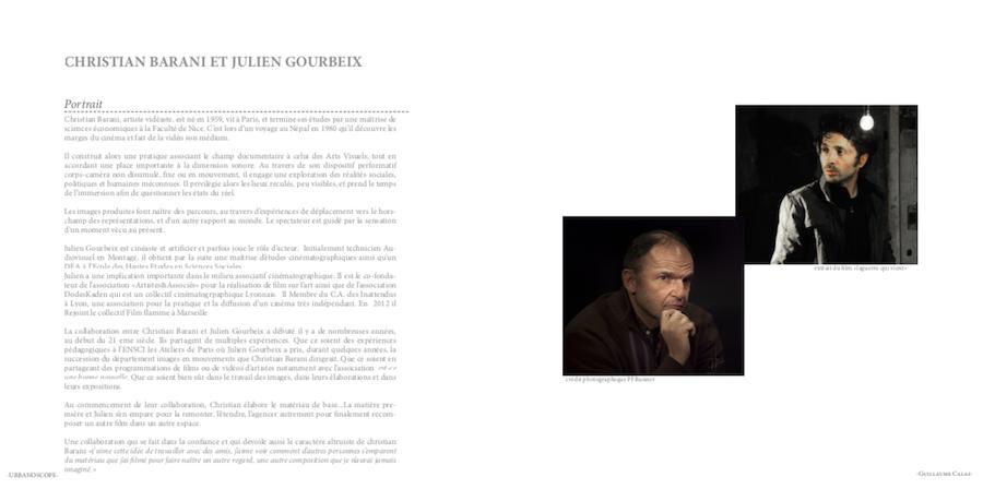 Urbanoscope - Un langage pour voir 3 | art-cade*