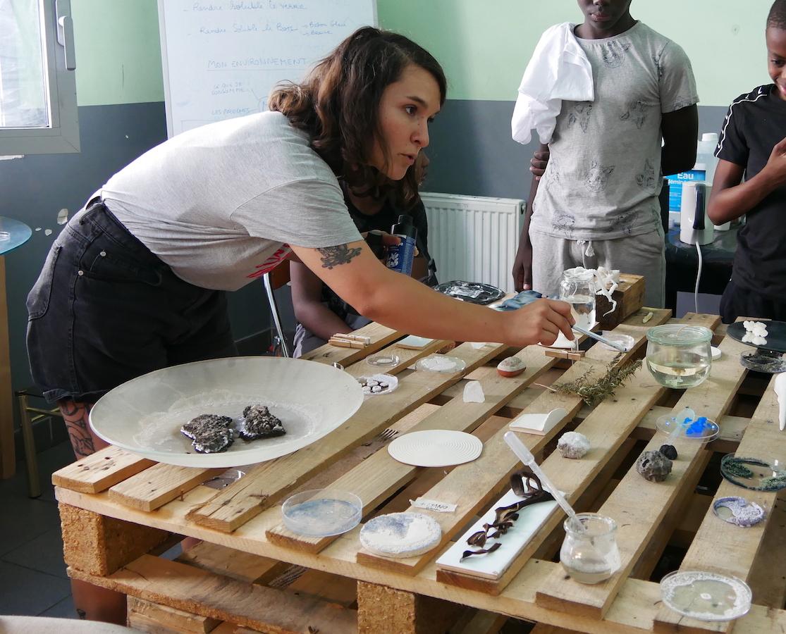 Delphine Mogarra, Résidence Rouvrir le Monde, Discussion au Laboratoire | art-cade*