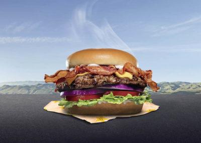 Achète un burger,2020, photomontage © Aurélien Meimaris| art-cade*