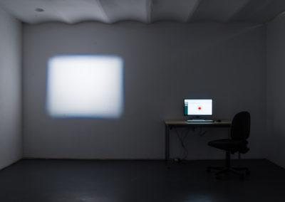 Aurélien Meimaris & Kevin Cardesa, Vision, 2020, interface de traitement et de lecture de données. © Photo Aurélien Meimaris | art-cade*