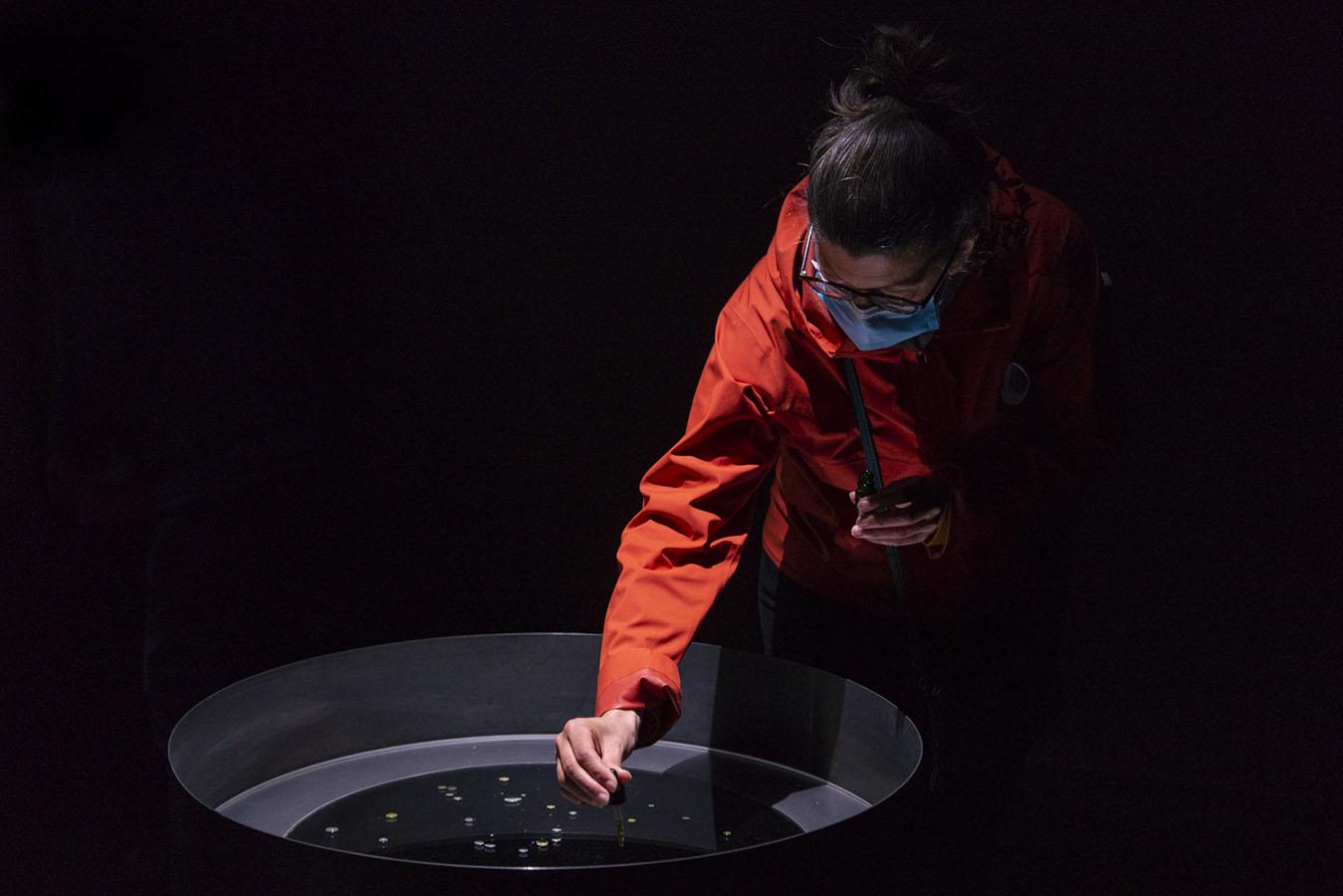 Delphine Mogarra, Laboratoire Soluble, 2021, © Aurélien Meimaris | art-cade*